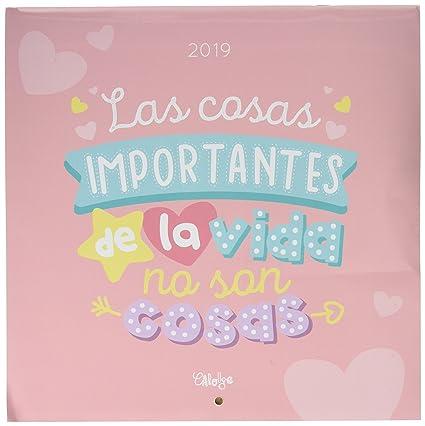 Calendario 2019 Rosa Portugues.Calendario2019 12 Laminas 30x30 Cm Frases
