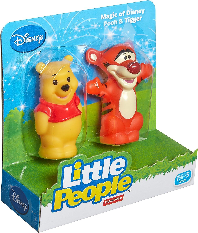 Fisher Price Little People Magic of Disney Tigger Tiger Winnie Pooh/'s friend