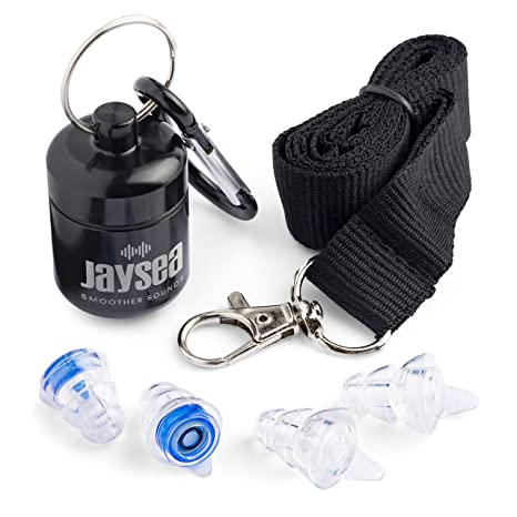 8c2d8fc01e4 Jaysea Noise cancelling ear plugs | Sound hearing protection at Concerts |  Gigs | Band practice ...