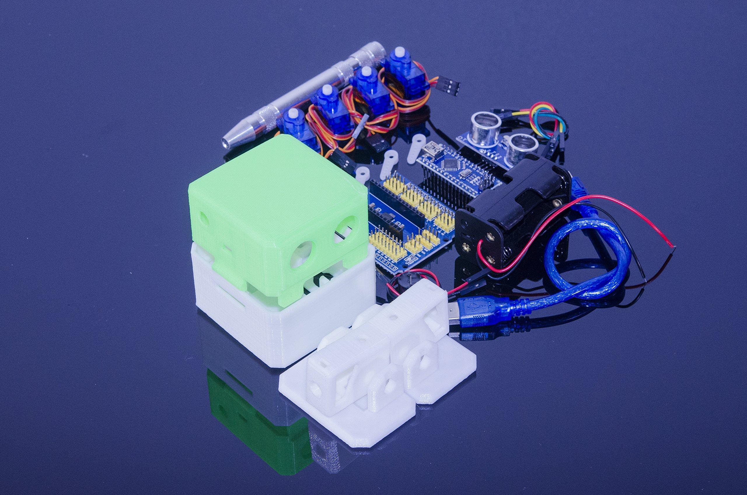 ACROBOTIC Otto Walking Robot Arduino-Compatible Full Kit | Build-It-Yourself Science Kit, Raspberry Pi, ESP8266