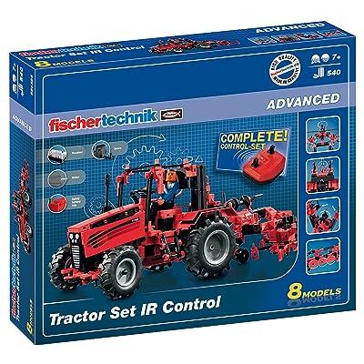 fischertechnik IR Control Tractor Set: Toys & Games