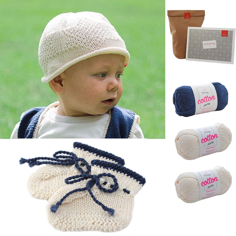 Babyschuhe Stricken Babymütze Stricken Baby Diy Socken Mütze