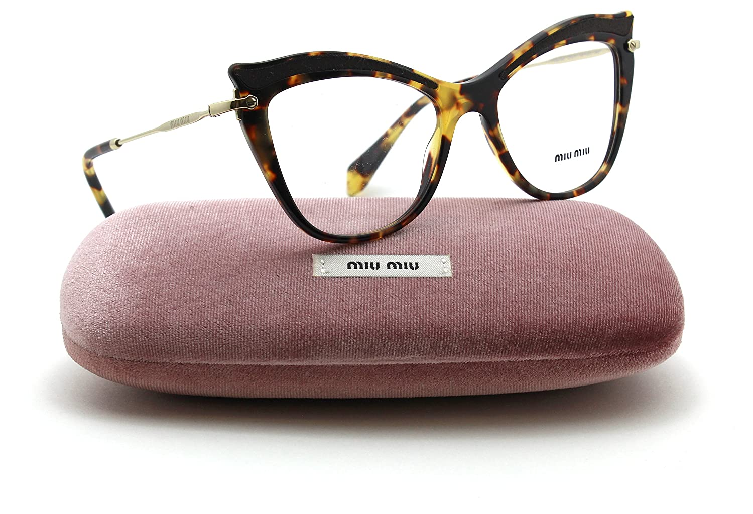 26136c398d Miu Miu MU 06PVA Women Cat-Eye RX - able Eyeglasses Asian Fit VIF ...