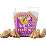 Mothers Day Gift For Women Fortune Cookies In A Gift Box | Food Gift | 8 Individually Wrapped Cookies | Kosher Certified