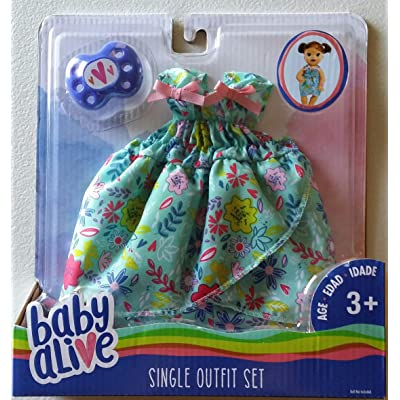 Baby Alive Single Outfit Set - Floral Blouse, Multicolor: Toys & Games