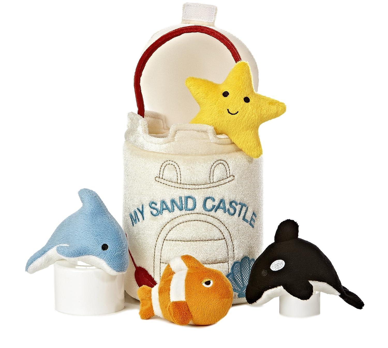 Aurora World Baby Talk My Sand Castle Carrier Plush, 8 by Aurora World