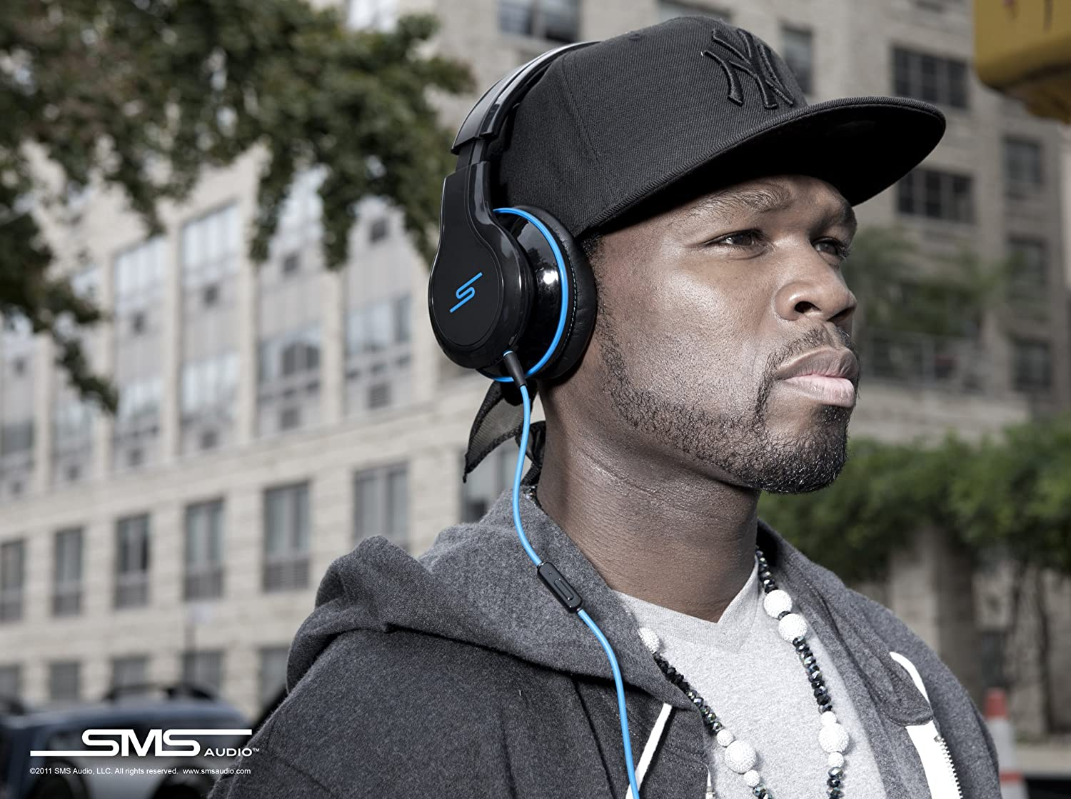 Amazon.com: SMS Audio STREET By 50 Cent Over-Ear Wired Headphones ...