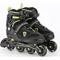 Quantico Inline Skates with PU Flashing Wheel & 1 Year Warranty