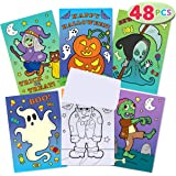 JOYIN 48 Pack Halloween Coloring Books in 6 Covers Halloween Treat Prizes Gifts for Kids Girls and Boys Party Favor…