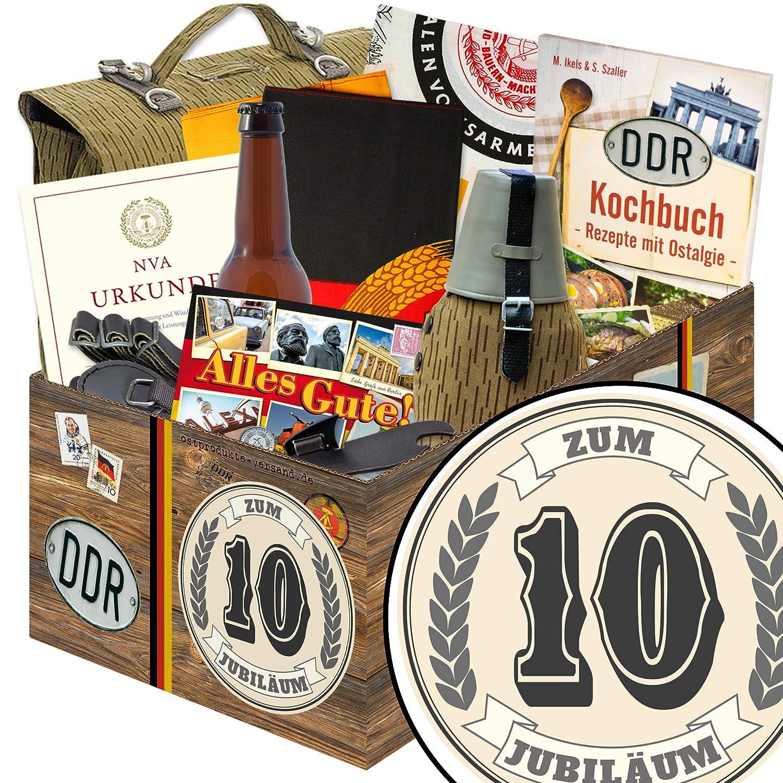 Geschenk Für 10 Jahre Jubiläum Ost Schokolade Box 10