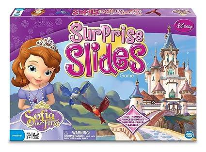 Amazon.com: Princesa Sofía sorpresa diapositivas Junta Juego ...