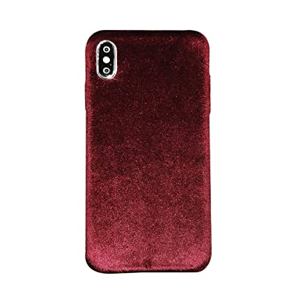 coque iphone xs velour