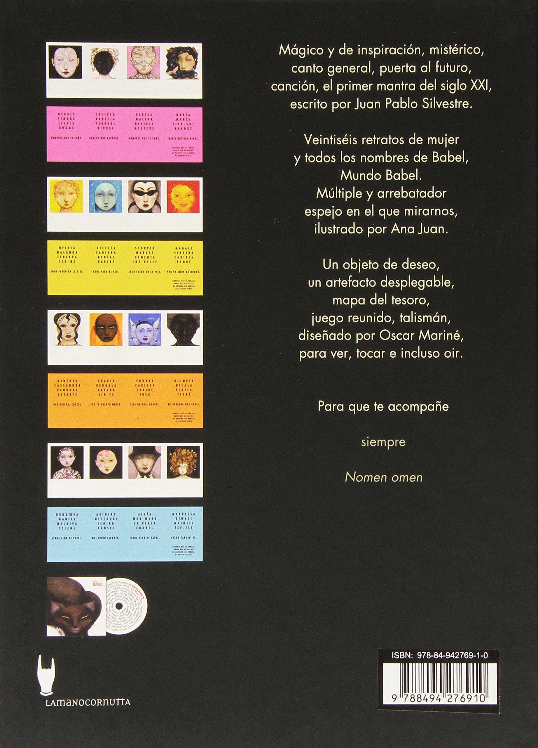 Mi querida Babel: Primer mantra del siglo XXI: Amazon.es: Juan Pablo Silvestre, Ana Juan: Libros