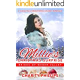 Millie's Christmas Surprise: A Clean Mail Order Bride Holiday Romance (Brides Of Weber Valley Book 5)