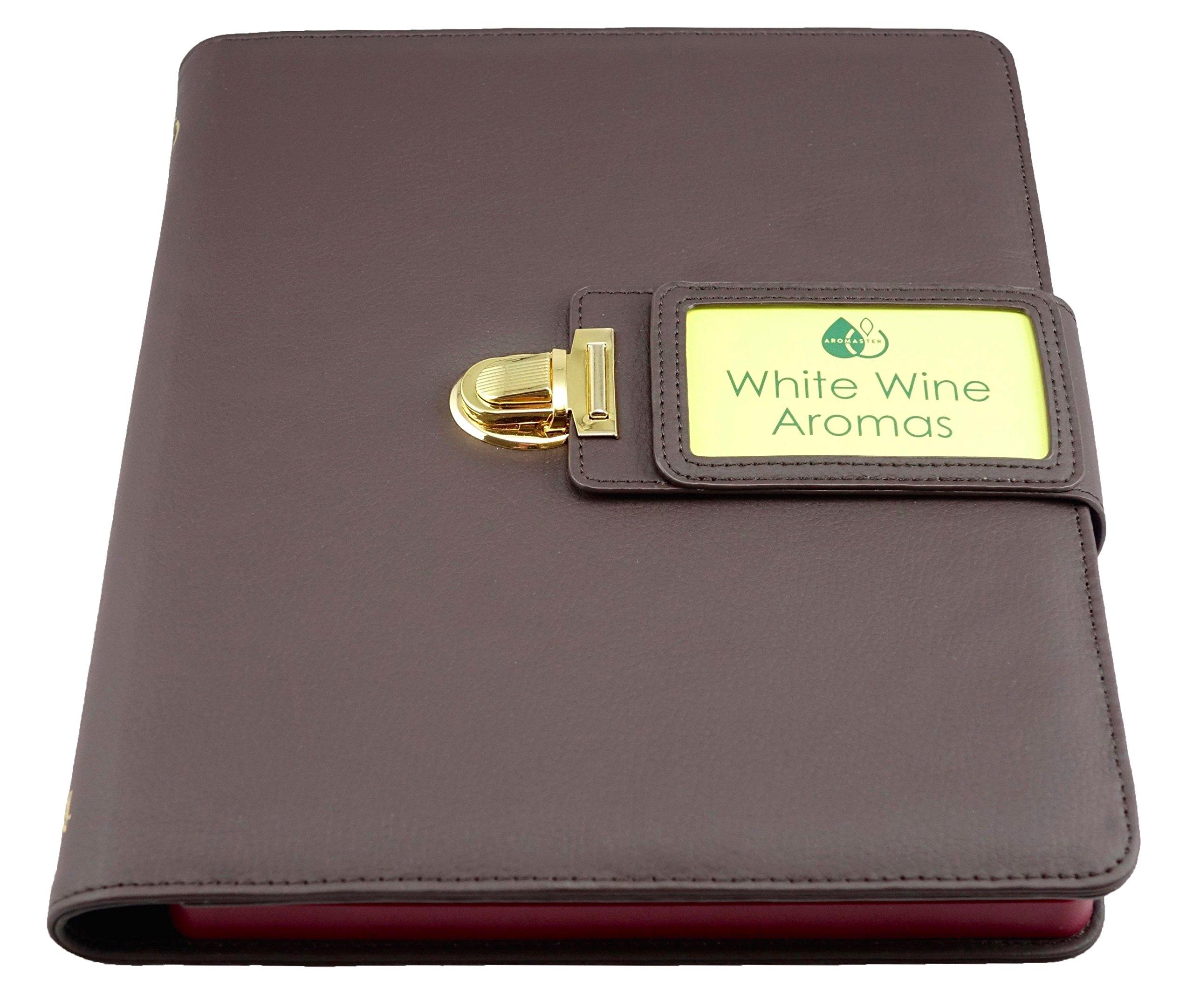 White Wine Aroma Kit - 24 Aromas (incl. Wine Aroma Wheel)