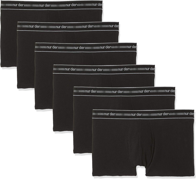 Pack of 6 Nur Der Mens Boxer Shorts
