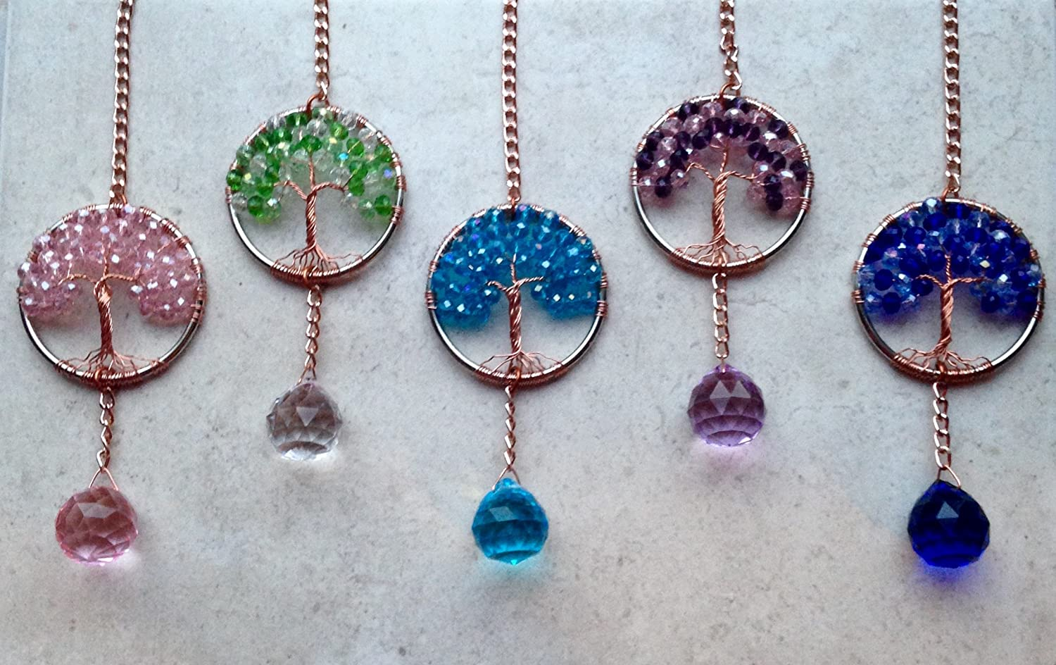 Window Ornament Crystal Ball Prism Suncatcher,Feng Shui Rainbow Maker Pewter Sun with Face Window Sun Catcher with Turquoise Gemstones Pewter Sun Rear View Mirror Crystal Car Charm Sun Catchers