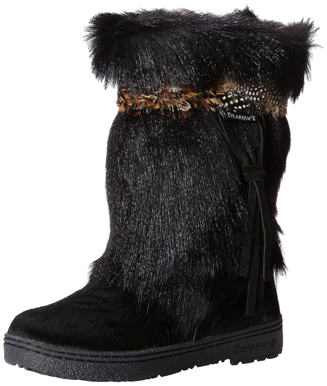 Bearpaw Kola II 1290 Women's Cow Hair Warm Lined Boots B004WZHSNQ 10 B(M) US Black