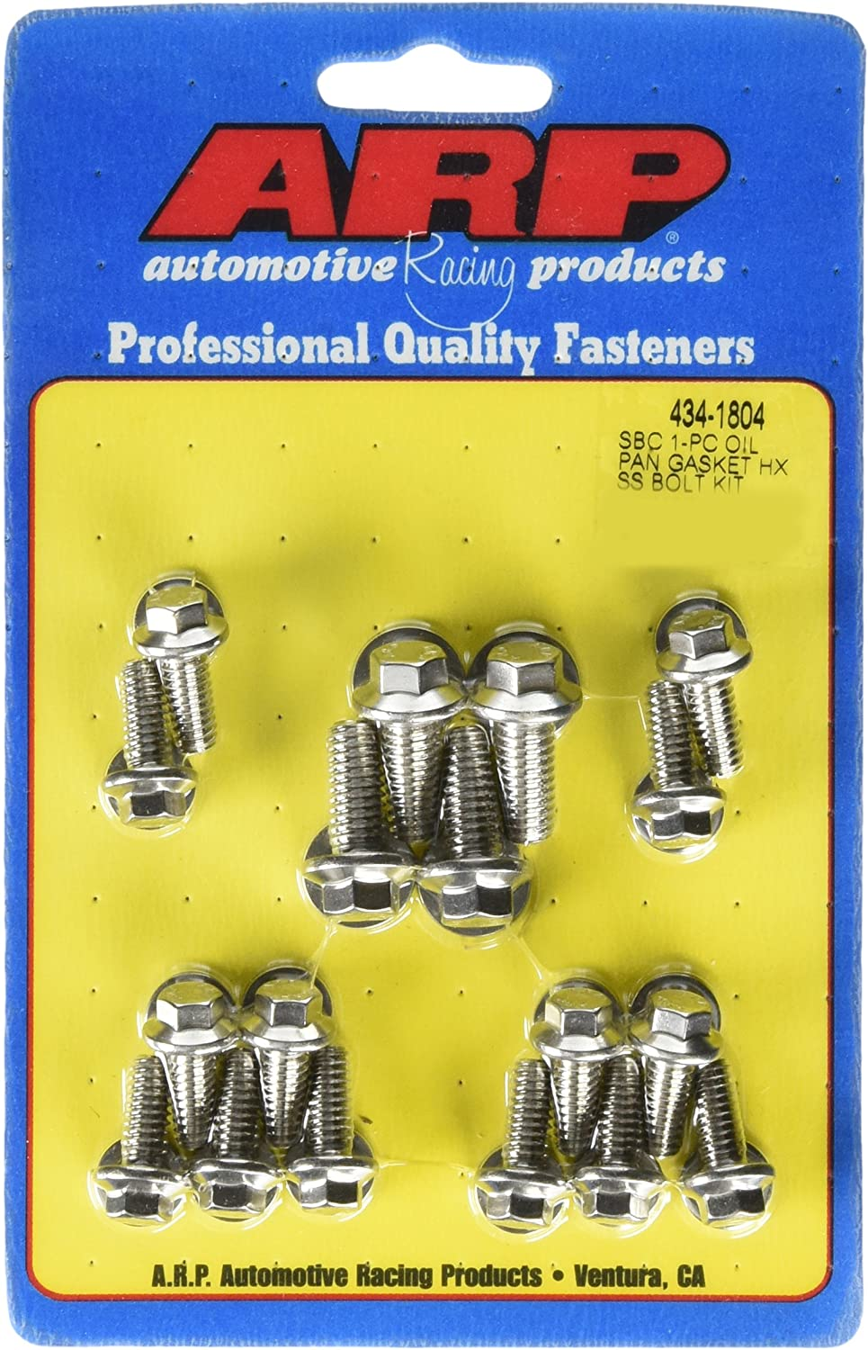 Moroso 38551 Oil Pan Bolt for Small Block Chevy