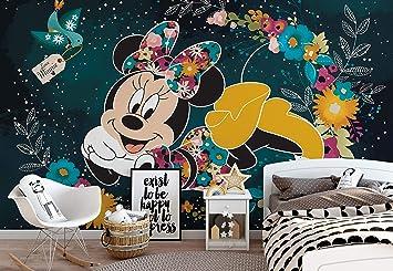 Disney Minnie Mouse Vlies Fototapete Fotomural - Wandbild ...