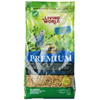 Living World Premium Mix For Budgies, 908 g (2 lb)