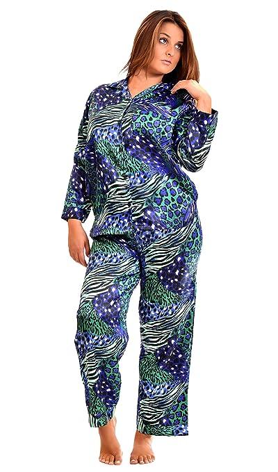 7d9f9afb8 Women's Classic Animal Print Pajama Sets at Amazon Women's Clothing store:  Pants Pajamas Sets