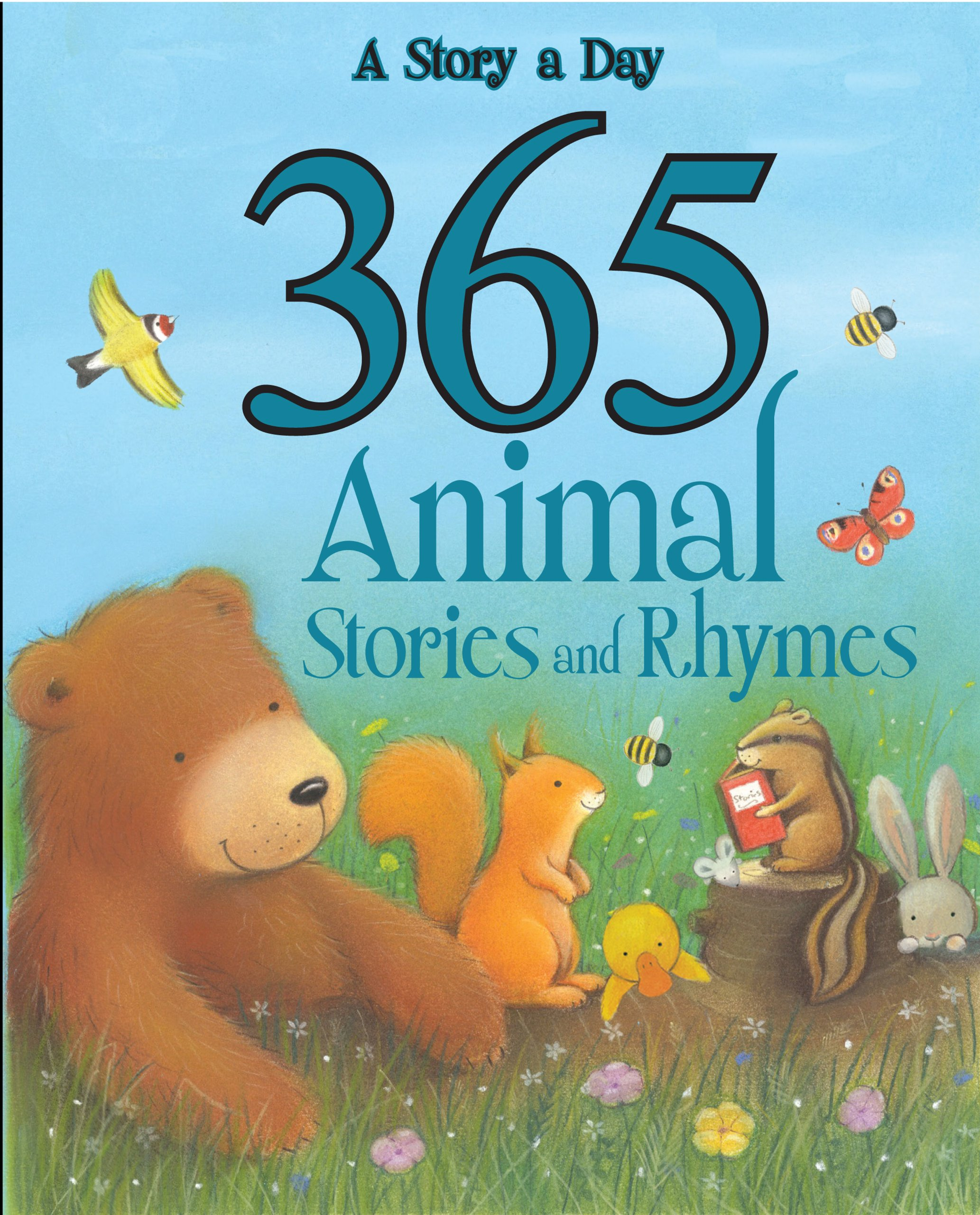 Uncategorized Animal Stories 365 animal stories and rhymes parragon books alicia padron 9781445438535 amazon com books