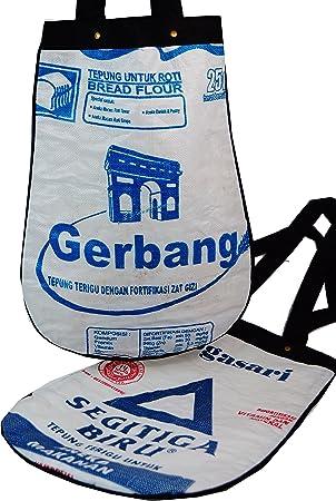 upcycling funda, bolsas de arroz recicladas Saco/upcyce Ling ...