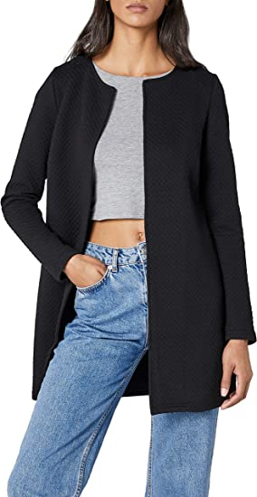 Vila Vinaja New Long Jacket-Noos Chaqueta de Traje para Mujer