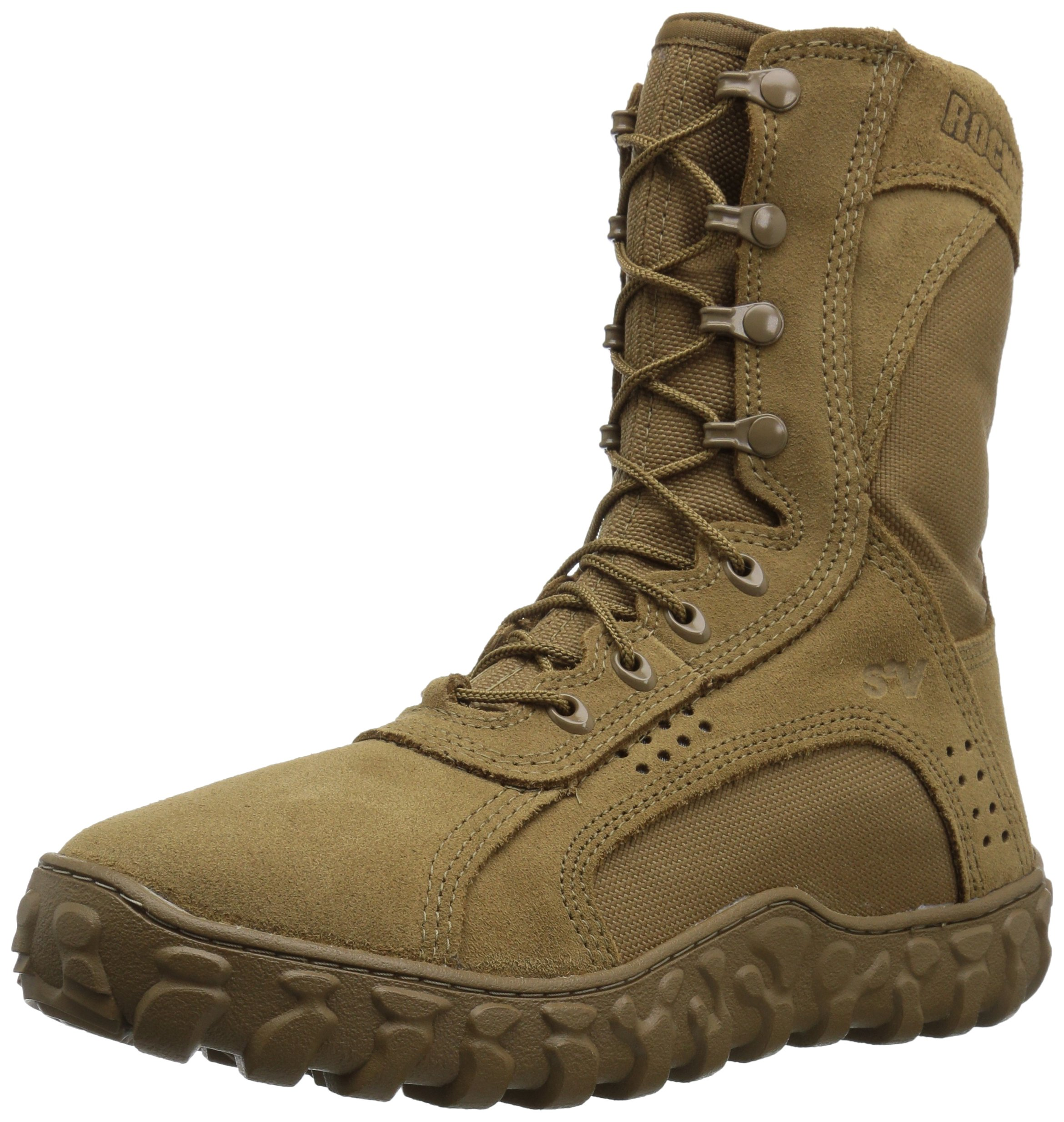 Rocky Men's RKC050 Military and Tactical Boot, Coyote Brown, 9 W US by Rocky