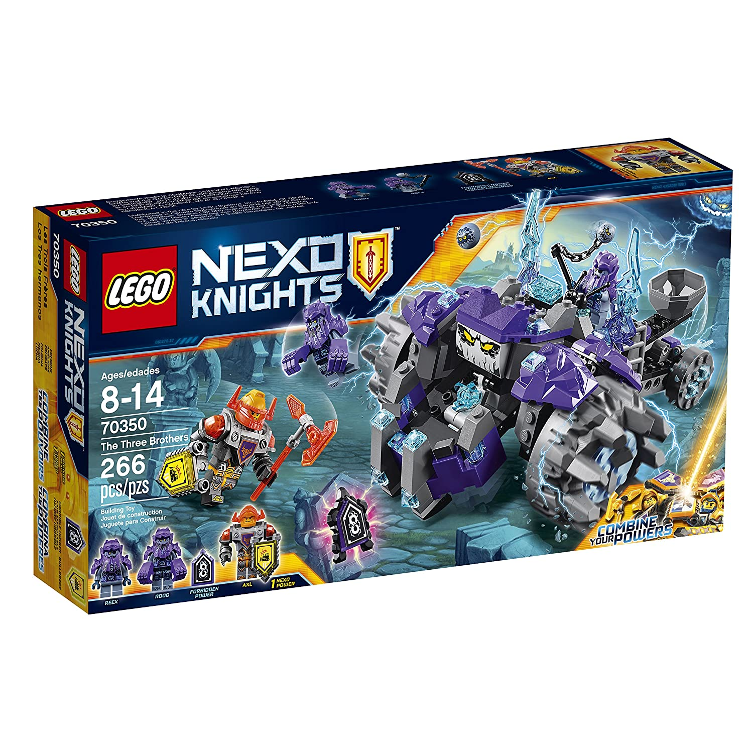 Lego Nexo Knights The Three Brothers (70350) Speed Build Video