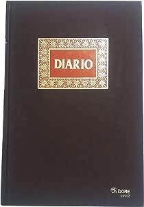 Dohe 9902 - Libro de contabilidad, diario americano, folio