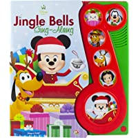 Disney Baby - Mickey Mouse Christmas Jingle Bells Sing-Along Song Book - PI Kids