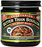 Better Than Bouillon No Beef Base Vegetarian, 8 Ounce