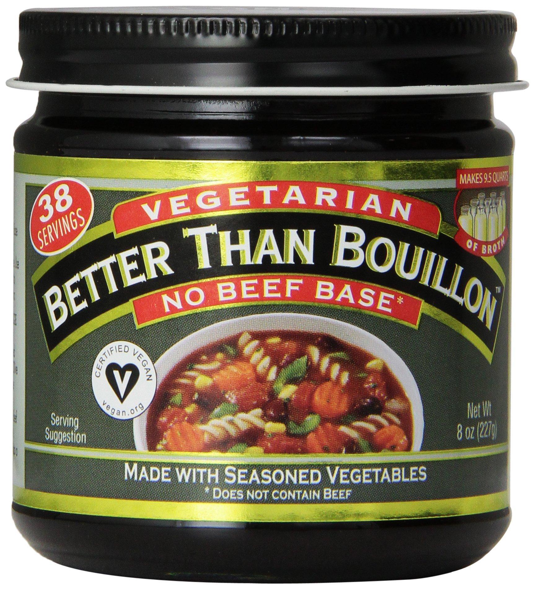 Better Than Bouillon No Beef Base Vegetarian, 8 Ounce