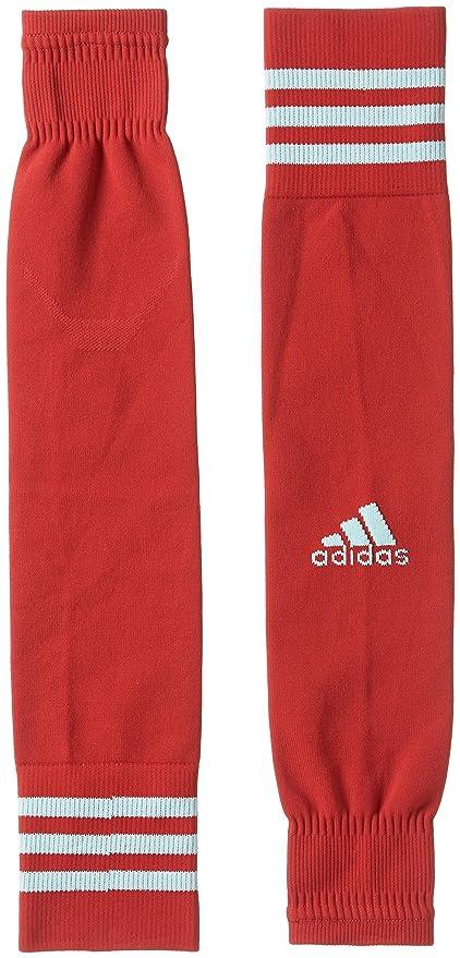 e6b8d21708 adidas Mens TEAM SLEEVE 18 Footbll Sock For Soccer power red/energy aqua