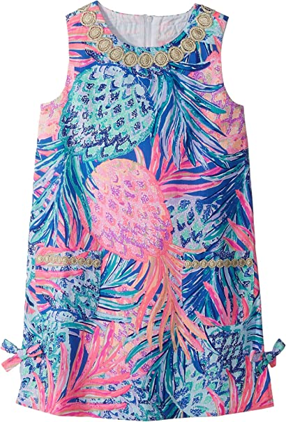 d8b26caba Lilly Pulitzer Kids Baby Girl's Lilly Classic Shift Dress (Toddler/Little  Kids/Big
