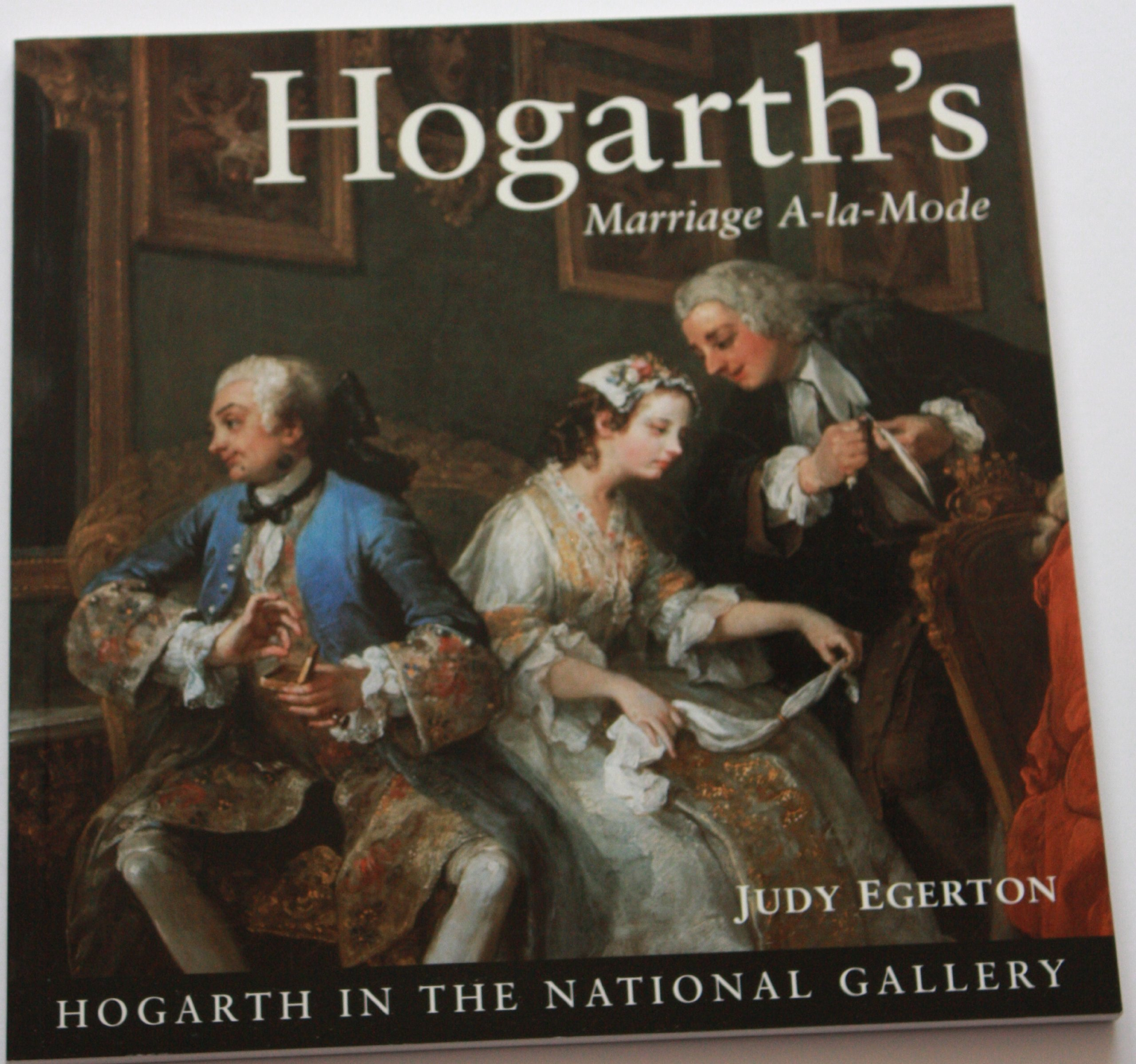 hogarths marriage a la mode in the national gallery