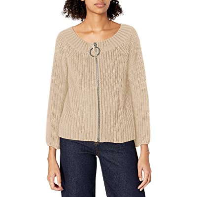 525 America Women's Ring Pull Zip Off The Shoulder Shaker at Women's Clothing store