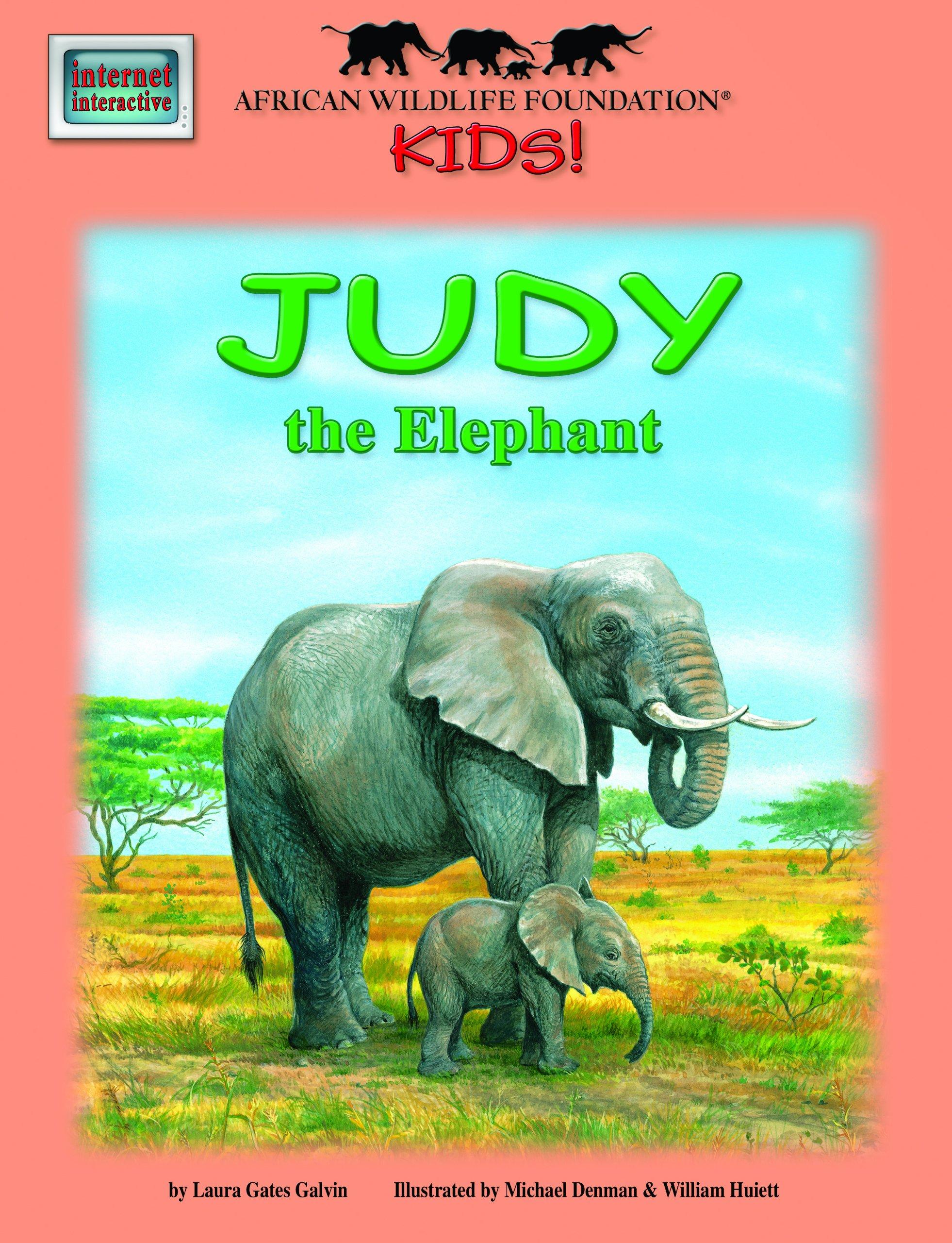 Judy the Elephant - An African Wildlife Foundation Story (with audio CD) (African Wildlife Foundation Kids!)