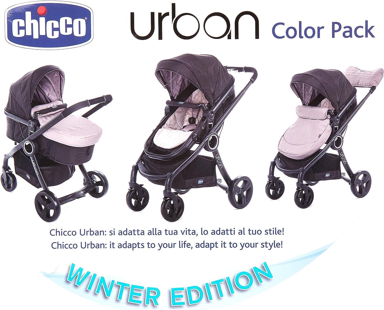 CHICCO 00079169120000 Color Pack Urban - Fundas para cochecito, color beige: Amazon.es: Bebé