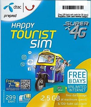 sim karte thailand Sim Karte Thailand   Telefonieren & SMS 100 Baht: Amazon.de
