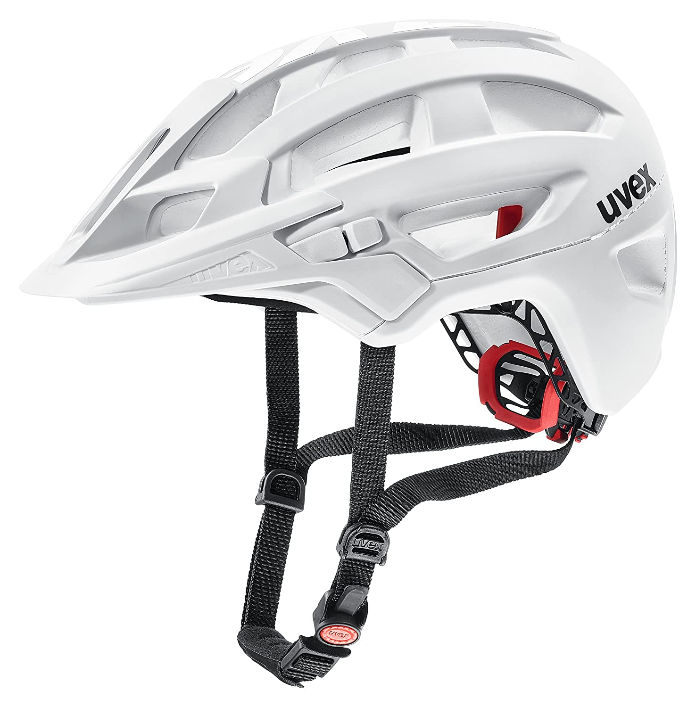 Uvex Finale Bicicleta Casco, Primavera/Verano, Unisex, Color White-White Mat, tamaño 52-57 cm: Amazon.es: Deportes y aire libre