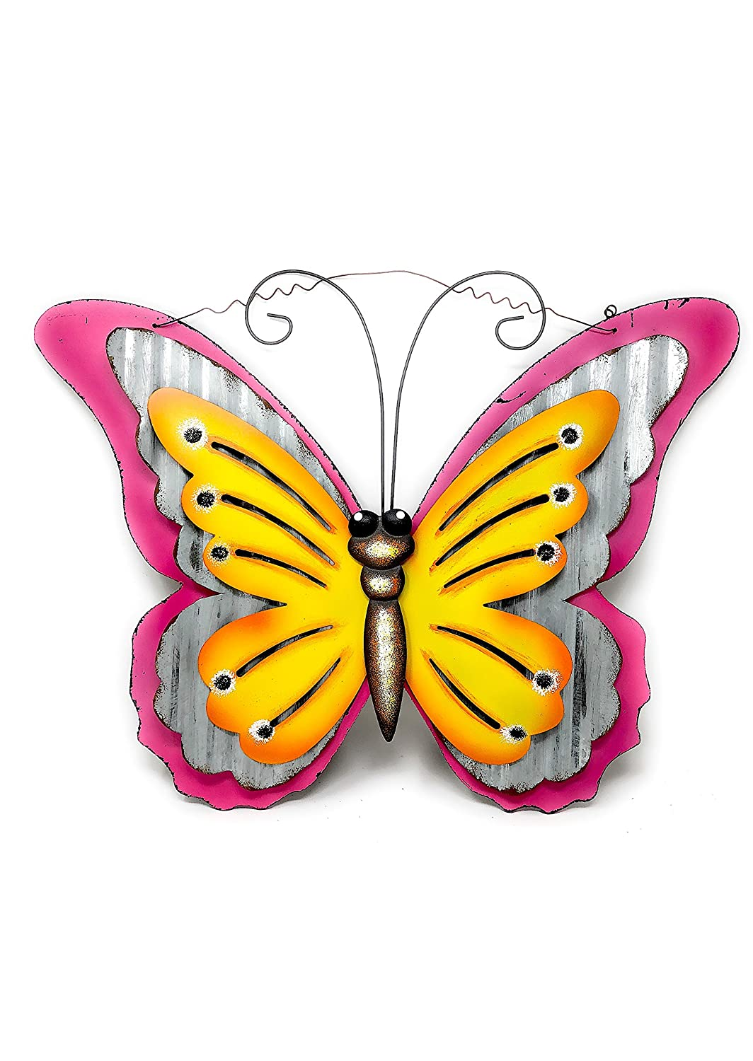 Fancy Metal Wall Art Butterfly Adornment - Wall Art Collections ...
