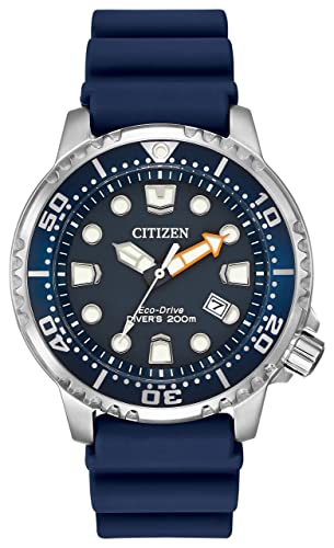 141a483b13f92c Citizen Men's Divers Eco Drive Watch with Blue Dial Analogue Display and  Blue PU Strap BN0151-09L: Amazon.co.uk: Watches