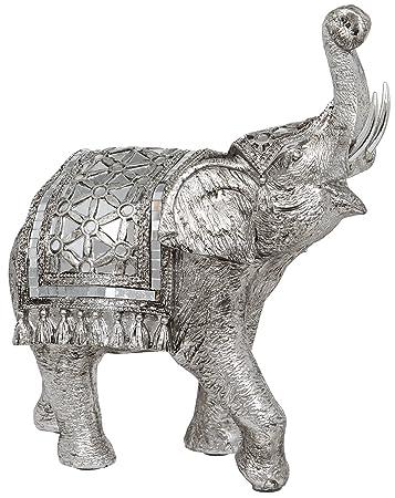 Metall-ART DEKO-Figur Elefant Design I