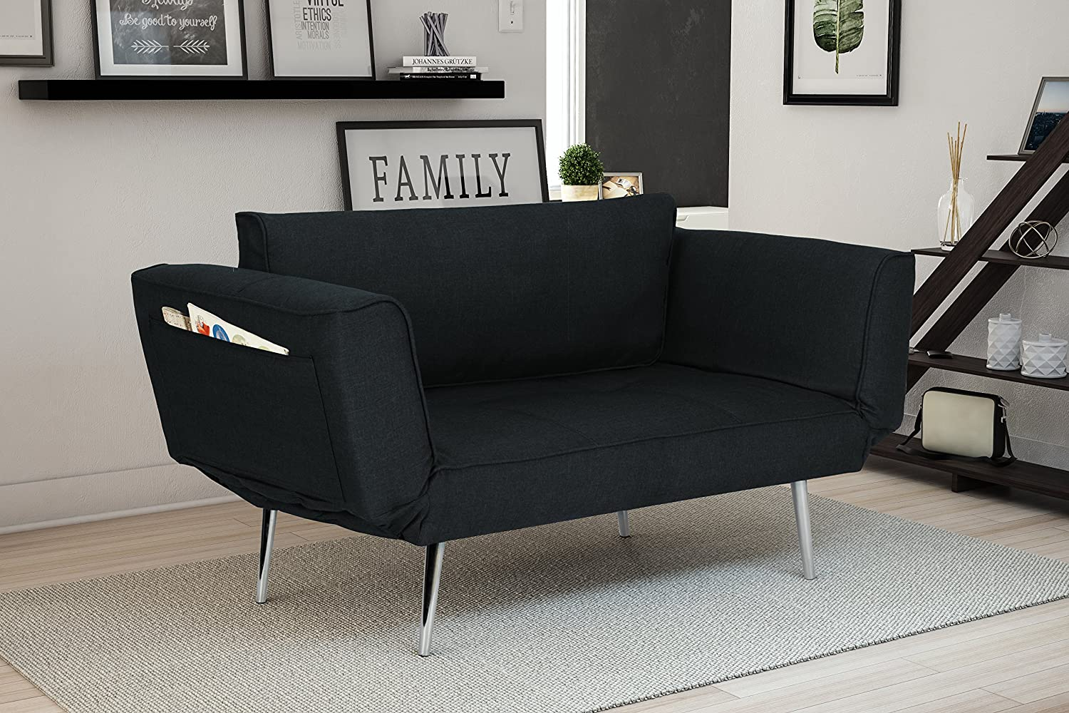 DHP Loveseat/Sleeper Sofa - best sleeper sofa