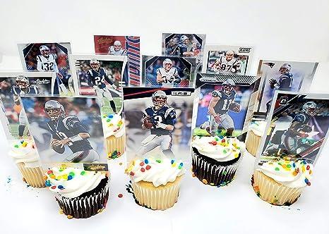 Incredible Amazon Com New England Patriots Team Themed Football Birthday Funny Birthday Cards Online Elaedamsfinfo