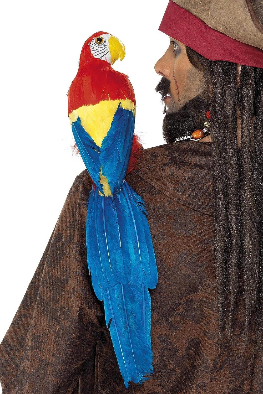 Pirat Kostüm Kostüm Zubehör 50 Smiffys 20 Accessoires Requisiten Papagei 50cm