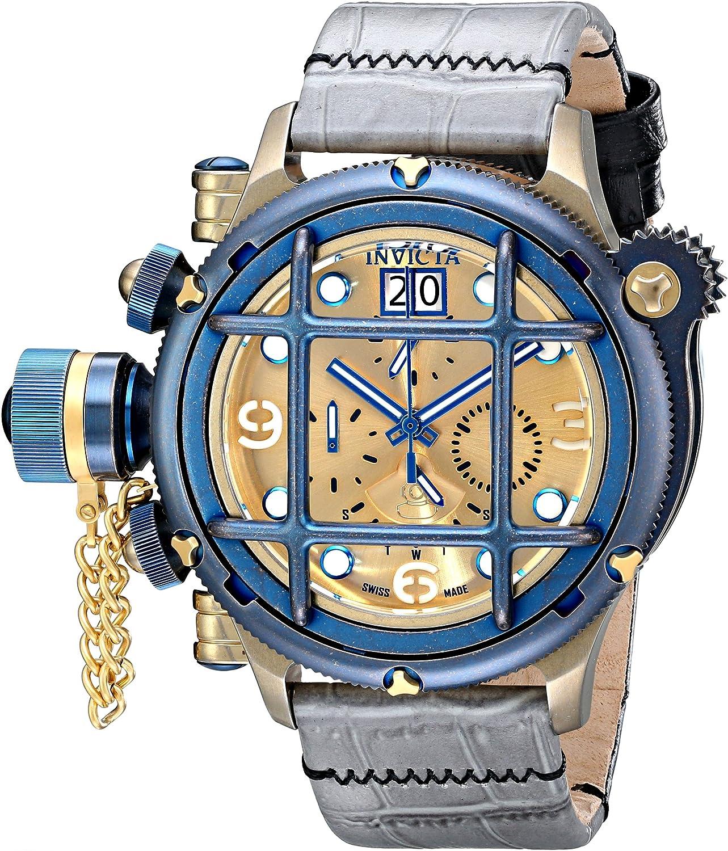 Invicta Men s 17344 Russian Diver Analog Display Swiss Quartz Grey Watch
